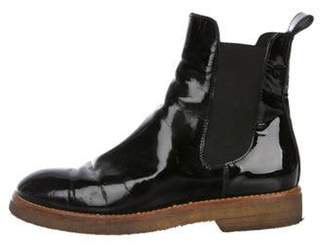 Marni Patent Leather Ankle Boots Black Patent Leather Ankle Boots