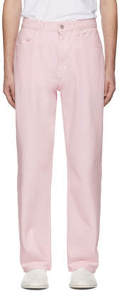 Our Legacy Pink Formal Cut Jeans