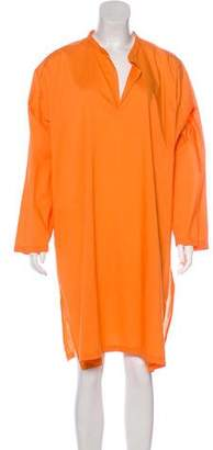 eskandar Knee-Length Shirt Dress
