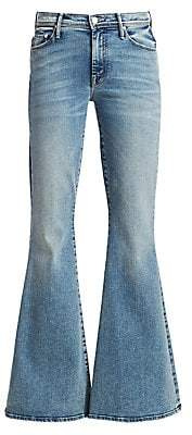 Mother Women's Super Cruiser High-Rise Flare Jeans