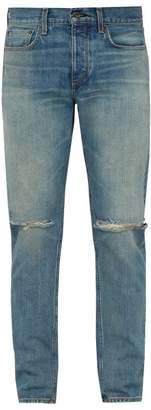 Rag & Bone Fit 2 Slim Leg Jeans - Mens - Blue