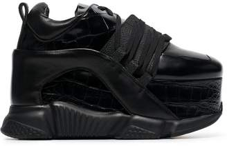 Marques Almeida Marques'almeida 80 Platform Leather Sneakers