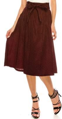 Lush Polkadot Skirt
