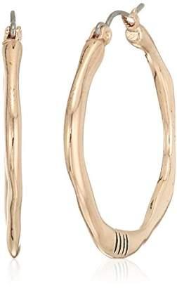 The Sak Women's Small Organic Click Hoop Earrings