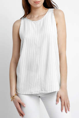 Velvet Heart Braylee Striped Chambray Tank Top