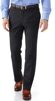 Charles Tyrwhitt Grey Slim Fit Stretch Cavalry Twill Pants Size W38 L30