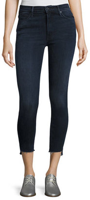 Mother Denim Stunner Zip Ankle Step Fray Jeans, A Trip Down Memory Lane $238 thestylecure.com