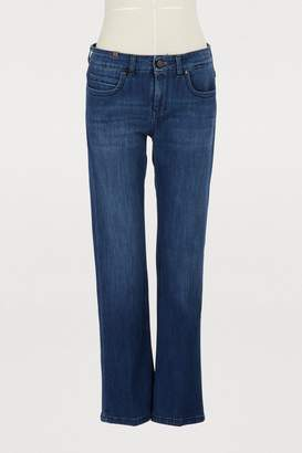 Atelier Notify Bootcut mid-rise cropped capri jeans
