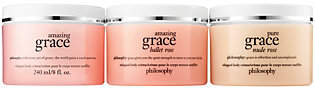 philosophy Grace & Roses 3 Pc Whipped Bodycreme Collectio