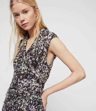 AllSaints Cancity Leofall Dress