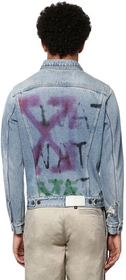 Off-White Off White Slim Cotton Denim Jacket