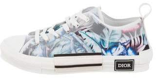 Christian Dior B23 Hajime Sorayama Oblique Low-Top Sneakers