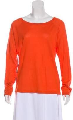 Michael Kors Cashmere Long-Sleeve Top