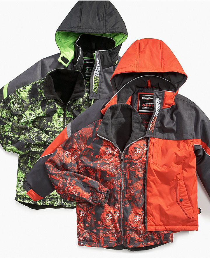 Hawke & Co Kids Jacket, Little Boys Printed Systems Jackets