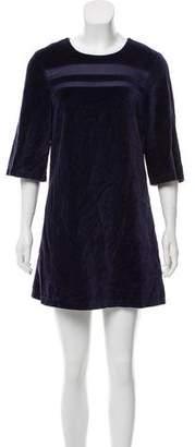 Ben Sherman Velvet Mini Dress
