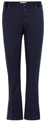 Frame Le Crop Mini cotton trousers
