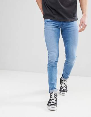 Celio Skinny Fit Jeans In Stone Wash