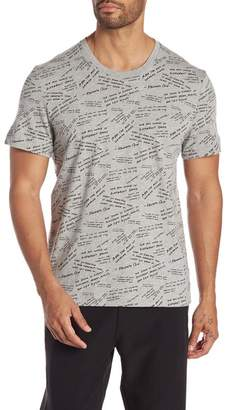 Kenneth Cole New York Short Sleeve Graphic Tee