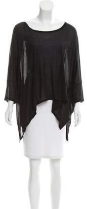 Enza Costa Short Sleeve Oversize Top