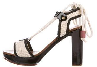See by Chloe Knit Platform Sandals