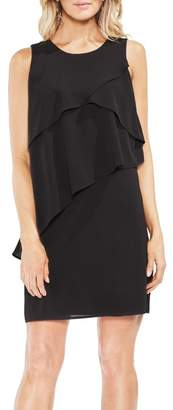 Vince Camuto Asymmetrical Tiered Shift Dress