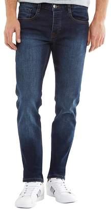 Peter Werth Mens Bernard Slim Leg Jeans Indigo