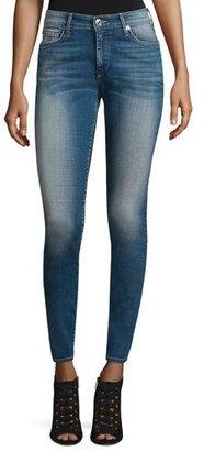 True Religion Jennie Curvy Skinny Ankle Jeans, Rolling Indigo $199 thestylecure.com