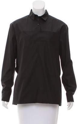Calvin Klein Collection Long Sleeve Top