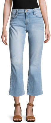 Current/Elliott Current Elliott The Kick Flare Cropped Pant