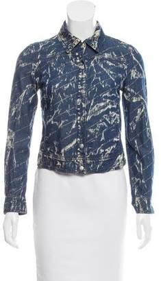 Gianfranco Ferre Printed Denim Jacket