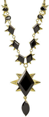 Noir 14K Plated Spiked Necklace
