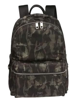 Dolce & Gabbana Zipped Camouflage Backpack