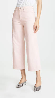 AG Jeans The Etta Wide Leg Cropped Jeans