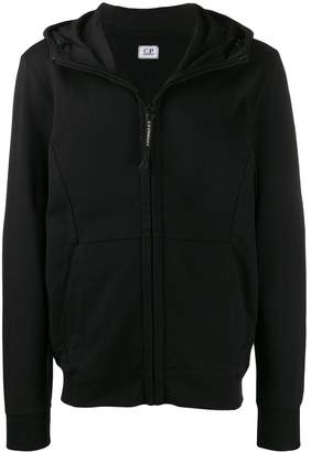 C.P. Company goggles zip-up hoodie