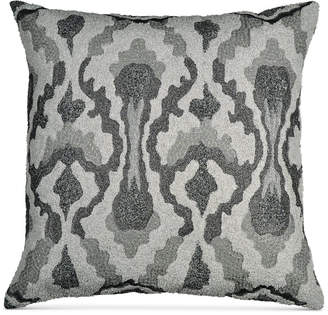 """Donna Karan Home Exhale 18"""" Square Embroidered Decorative Pillow Bedding"""