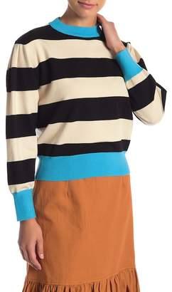 CODEXMODE Stripe Print Sweater