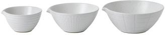 Royal Doulton Gordon Ramsay Maze Grill Dipping Bowls - Set of 3 - White