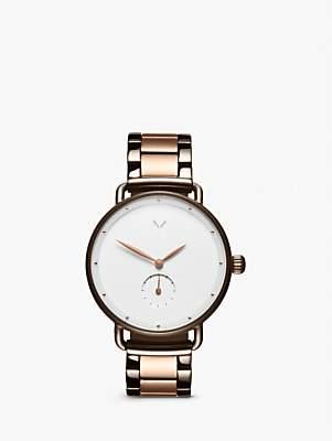 MVMT D-FR01-TIRGW Women's Bloom Bracelet Strap Watch, Taupe/Rose Gold