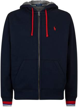 Polo Ralph Lauren Logo Zip-Up Hoodie