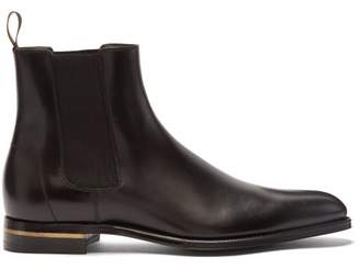Dunhill Duke Leather Chelsea Boots - Mens - Black