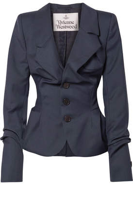 Vivienne Westwood Serge Wool Blazer - Navy