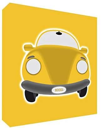 Feel Good Art Canvas Wall Art Sports Car Modern/Example of Yellow 25x 25x 4cm Small