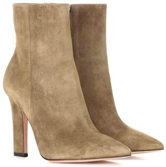 Gianvito Rossi Exclusive to mytheresa.com – Daryl suede ankle boots
