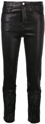 J Brand cut-out trim skinny trousers