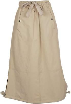 Moncler Drawstring Long Skirt