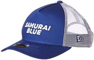 New Era (ニュー エラ) - [ニューエラ] サッカー 940 A-Frame Trucke JFA オフィシャルキャップ Samurai Blue ライトロイヤル/ホワイトカラー 11599564 [キッズ] 日本 OSFA (Free サイズ)