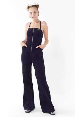 The Jetset Diaries Mayfair Studded Corduroy Jumpsuit