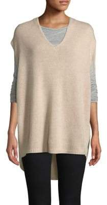 Theory Cashmere High-Low Sweater