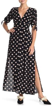 Sanctuary Love Worn Polka Dot Maxi Dress