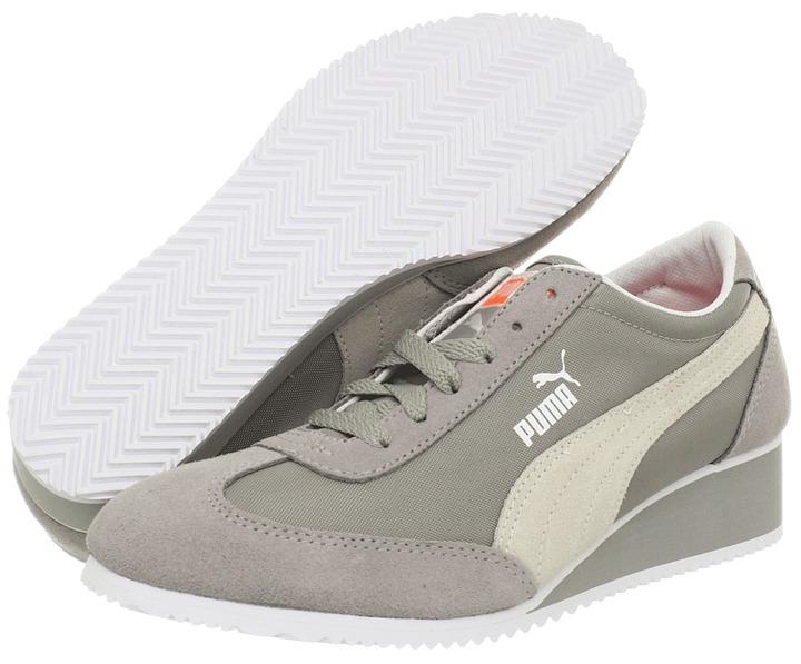 Puma Caroline Wn's (Black/White) - Footwear
